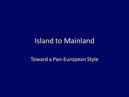 Island to Mainland Toward a Pan-European Style. Fragmentary Remains Sumer canon [Anthology 1-35] – Rota – Pes (foot), Ground – Tertian harmonies.