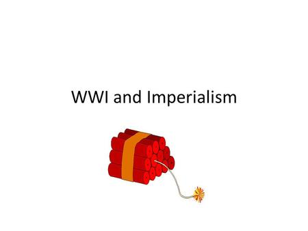 WWI and Imperialism. Austria-Hungariaan Empire 1800s.