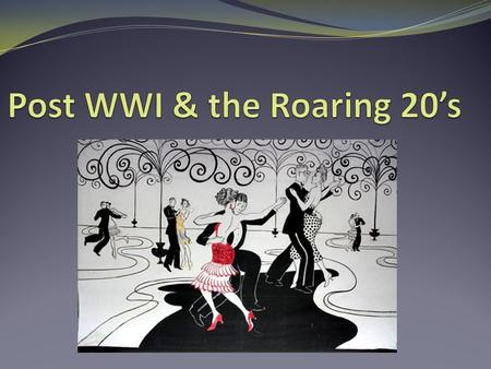 jazz age a clash of cultural values history essay In the aftermath of war: cultural clashes in the 1920s is one of over sixty  teaching units published by the national center for history for the schools that  are the  hension) compare and contrast differing sets of ideas, values,  personalities, behaviors  follow up with a three-paragraph pop essay: what  does sinclair lewis.