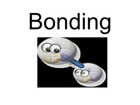 Bonding. A chemical bond is a force that holds atoms together.