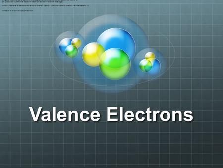Valence Electrons 8th grade Read p.51-53 Do questions 1-2, on page 51, Do definitions p. 51 and Do question 3 a and b p. 53 8th (please ask students what.