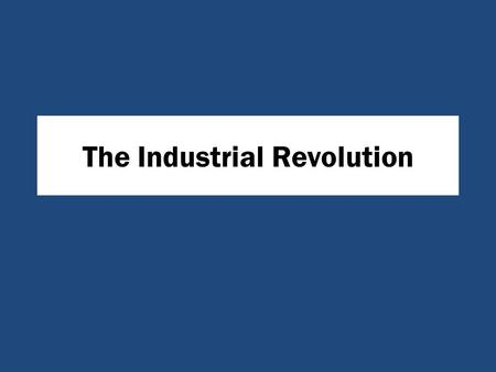 an analysis of the negative effects of the industrial revolution in the united states Primary source set: the industrial revolution  revolution, 1791-1804] revenge  released in the united states of the recent meet.