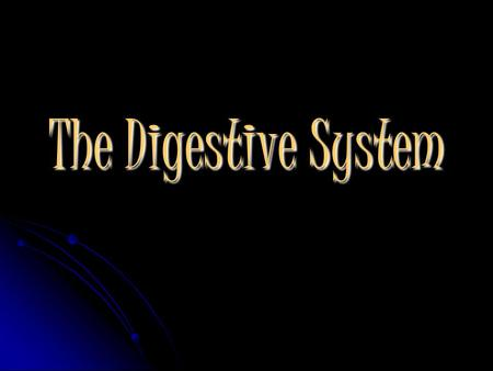 The Digestive System. What Happens During Digestion Three Main Processes ◊ Digestion: is the mechanical and chemical breakdown of foods within the stomach.