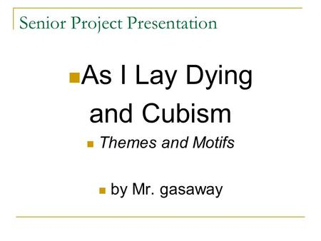 as i lay dying analysis Complete summary of william faulkner's as i lay dying enotes plot summaries cover all the significant action of as i lay dying.