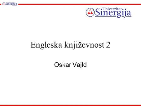 Engleska književnost 2 Oskar Vajld. Yet he was not really reckless, at any rate in his relations to society. Once or twice every month during the winter,
