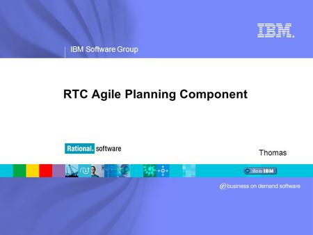 RTC Agile Planning Component