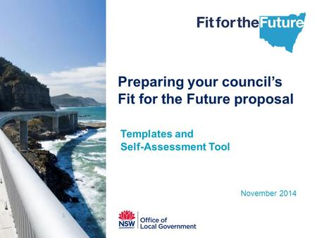 Preparing your council's Fit for the Future proposal