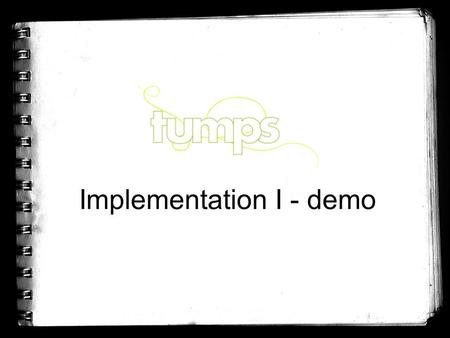 Implementation I - demo. Schedule * Project status -achieving the goals of the iteration -project metrics * Used work practices * Work results -presenting.