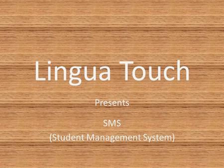 student management ppt