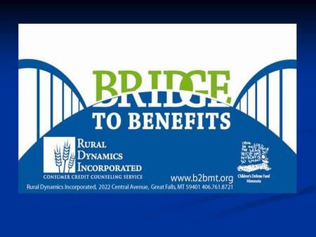 How do I screen myself on Bridge to Benefits? Log onto  or   if you are having trouble.