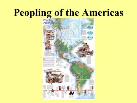 Peopling of the Americas. Terms Aboriginal peoples is a collective name for the original peoples of Canada and their descendants. Archaeologists are persons.