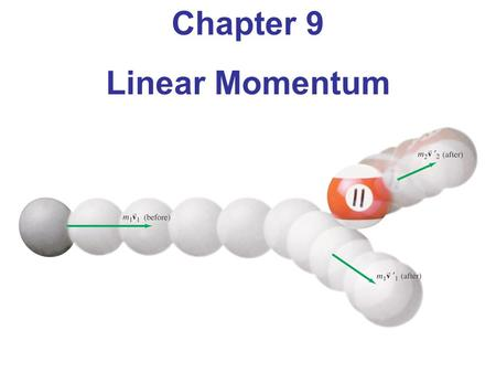 Chapter 9 Linear Momentum. A railroad car loaded with rocks coasts on a level track without friction. A worker on board starts throwing the rocks horizontally.