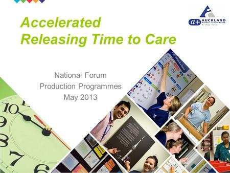 National Forum Production Programmes May 2013