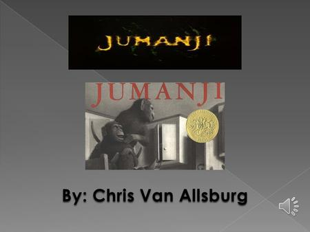 an introduction to the life of chris van allsburg an author Thought they'd give jumanji a try chris van allsburg again explores the ever-shifting line between fantasy and reality with this story about a game that comes startingly to life author: van allsburg, chris.