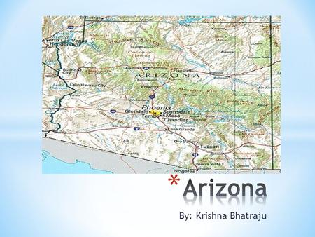 By: Krishna Bhatraju. The symbols of Arizona are listed below. * Arizona state amphibian: Arizona Treefrog * Arizona state bird: Cactus Wren * Arizona.