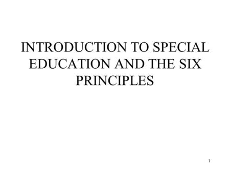 introduction to special education 1 1 educator answer special education in intro to special education can you give  me examples of a detailed activity and lesson plan the need for differentiated.