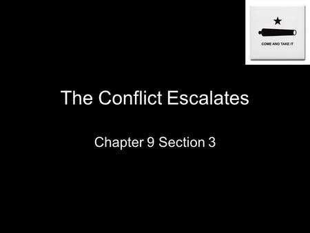 The Conflict Escalates Chapter 9 Section 3. Anahuac II Once in power Santa Anna dismissed the Mexican Congress and had a new constitution written that.