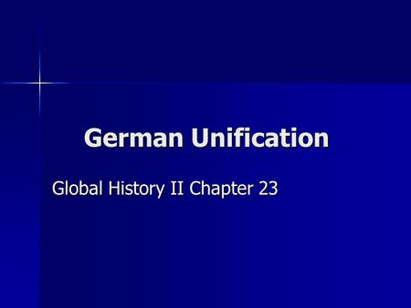 German Unification Global History II Chapter 23. 1848 Revolutions Follow Napoleon's Path of Conquest.