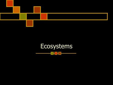 Ecosystems. Table of Contents 1. Process Skills 2. Cells 3. Classifying Animals 4. ECOSYSTEMS------------------- Make this the next clean page in your.