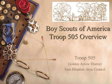 Boy Scouts of America Troop 505 Overview