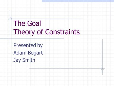 The Goal A Process of Ongoing Improvement - 30th Aniversary Edition