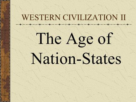 an introduction to the age of nationalism The age of revolution i789-1848 eric hobsbawm  introduction i  6 revolutions log 7 nationalism i32 part // results 8 land 149.