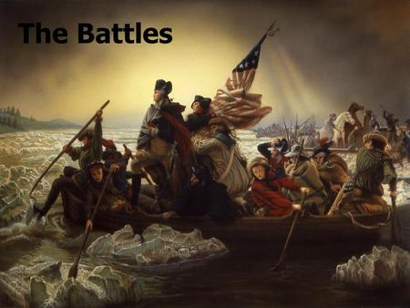 The Battles. Introduction Lasting seven years, the American Revolution was decided through the successes and failures of several important battles. Lasting.