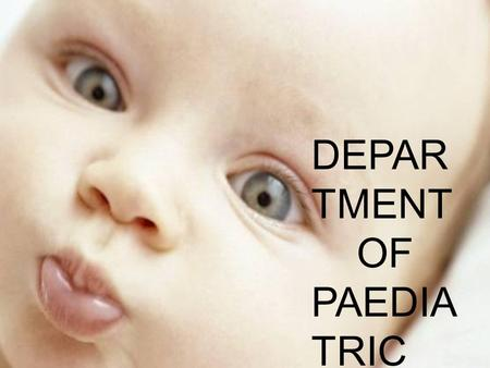 DEPAR TMENT OF PAEDIA TRIC DENTIS TRY. ANTERIOR CROSS BITE in primary and mixed dentition.