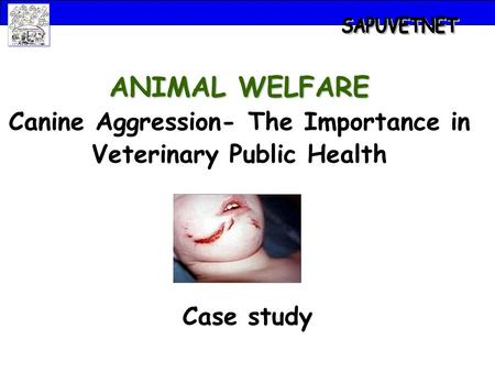 Case study ANIMAL WELFARE Canine Aggression- The Importance in Veterinary Public Health.