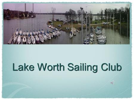 Lake Worth Sailing Club. The Frost Bite Canada Cup 2012.