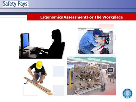 Ergonomics Assessment For The Workplace