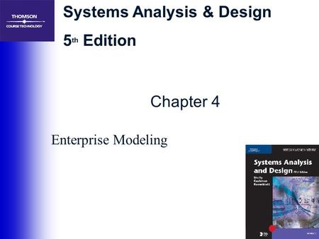 Chapter 4 Enterprise Modeling.