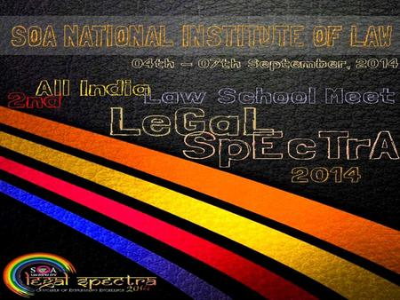 Legal Spectra is a unique endeavour to bring together legal students, practitioners, academicians, researchers, civil society organizations. Legal.
