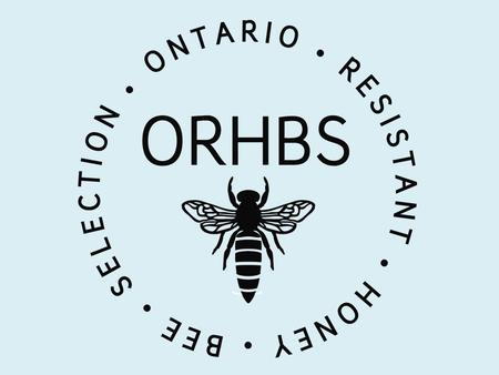 Review of ORHBS Program Objective -Selection for local disease Resistant Honey bee Stock -Tracheal Mite -AFB -Other brood diseases -Varroa ORHBS breeders.