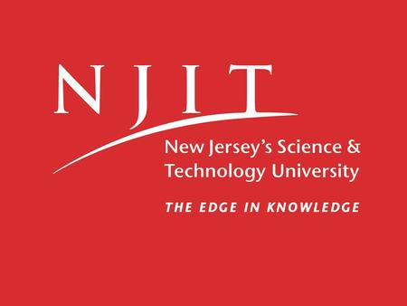 2002-2011 Selectivity and Graduation Rates at NJIT Office of Institutional Research and Planning April 25 th, 2012.