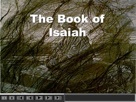 The Book of Isaiah. 1 Background & Overview Of Isaiah I. Background II. Structure & Content III. Meaning & Application.