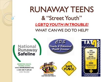 an overview of the status of runaway children in the united states It is a crime under federal and international law it is also a crime in every state in the united states federal law   national human trafficking hotline skip to main content.