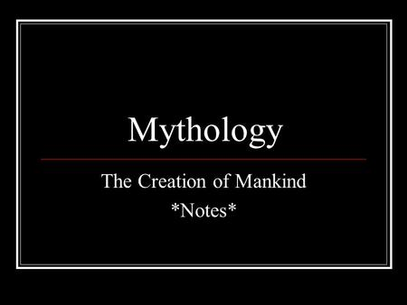 edith hamilton how the world and mankind were created Start studying [m] mythology by edith hamilton: chapter 3 (how the world and mankind were created) learn vocabulary, terms, and more with flashcards, games, and other study tools.