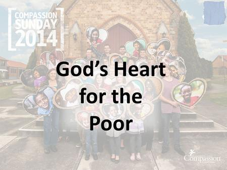 "God's Heart for the Poor. Scandal (Oxford Dictionary) ""An action or event regarded as morally or legally wrong and causing general public outrage"""