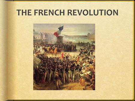 the french revolution and the rise The french revolution had a major impact on europe and the new world historians widely regard the revolution as one of the most important events in human history in the short-term, france lost thousands of her countrymen in the form of émigrés, or emigrants who wished to escape political tensions and save their lives.