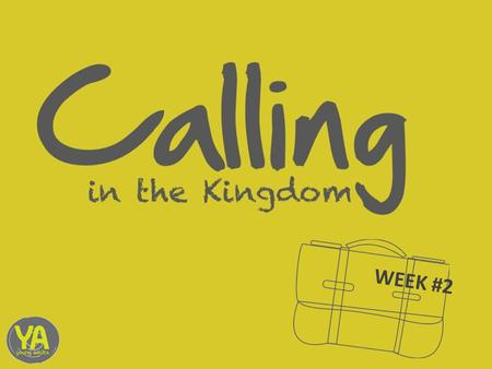 "WEEK #2. ""Is your life your best answer to God in fulfilling the Great Commission?"""