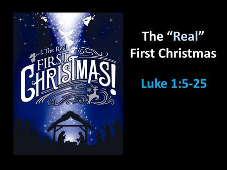 "The ""Real"" First Christmas"