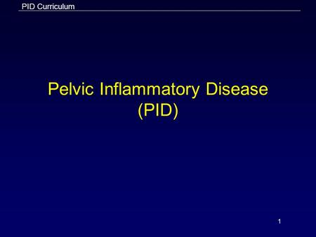 an analysis of the pelvic inflammatory disease in medical research of the united states Pelvic inflammatory disease and pelvic peritonitis 1 in the united states pid affects about 750,000 women each a meta-analysis of randomized clinical.