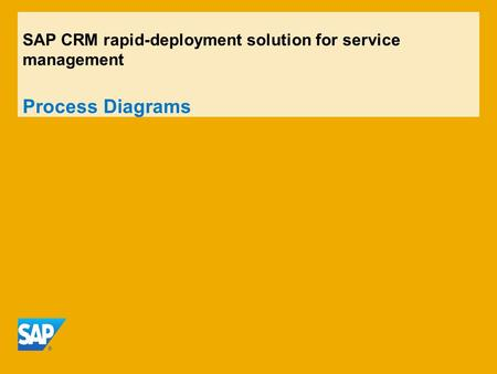 Contents C68 Service Order Management (CRM Standalone)