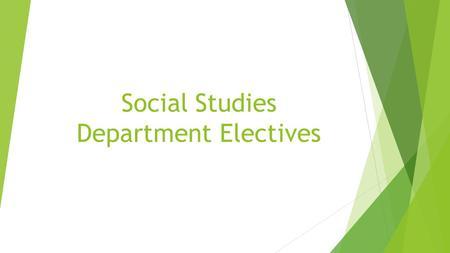Social legal studies