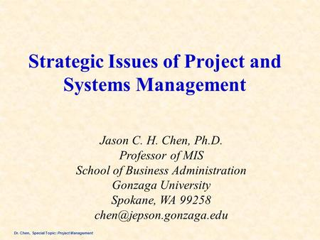 strategic issue management Academy of management our vision: we inspire and enable a better world through our scholarship and teaching about management and organizations.