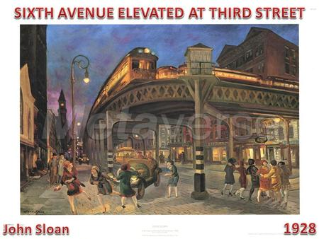 The El Ran from 59th Street and Sixth Avenue, abruptly snaked down West Third Street to West Broadway, then made its way to Rector Street. It was torn.