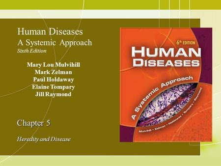 Human Diseases A Systemic Approach Sixth Edition
