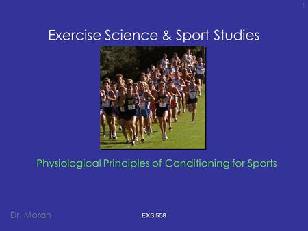 Exercise Science & Sport Studies