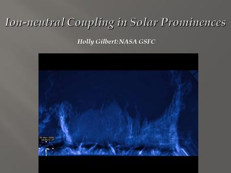 Holly Gilbert: NASA GSFC. SDO AIA composite made from three of the AIA wavelength bands, corresponding to temperatures from.7 to 2 million degrees (hotter.